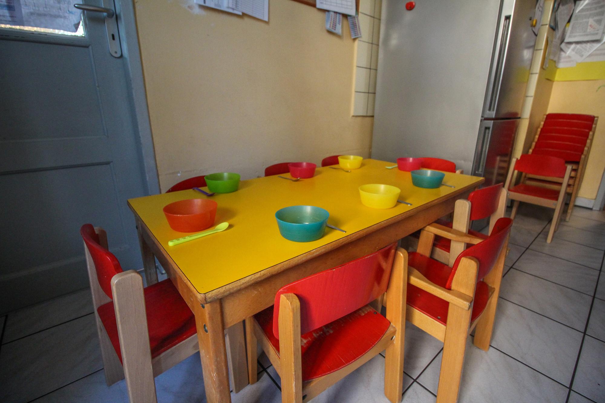 Cuisine et repas de la crèche parentale la Farandole à Strasbourg
