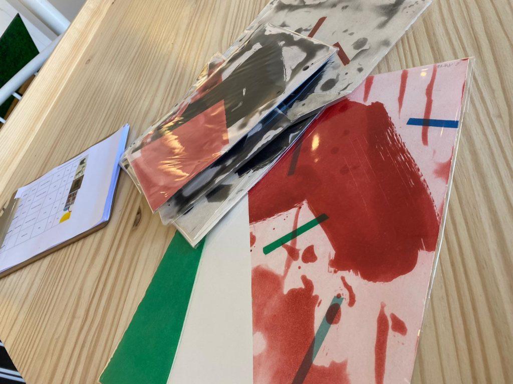 L'art à la crèche : visite à la galerie l'Estampe