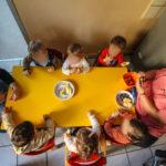 Les repas à la crèche la Farandole de Strasbourg